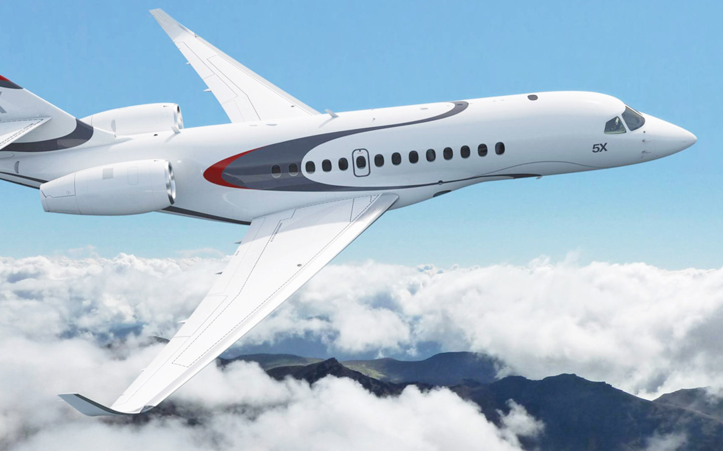 Featured Aircraft: Dassault Falcon 5X