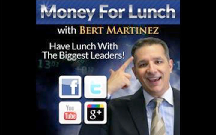 Privé Jets Featured on Bert Martinez's Money For Lunch iHeart Radio Show