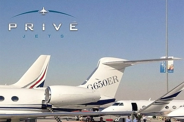 Privé Jets featured on Luxury Trump
