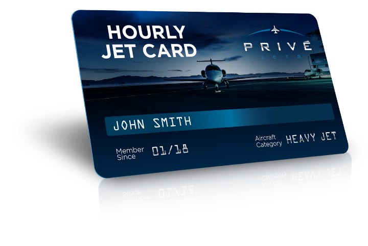 Fixed Hourly Jet Card