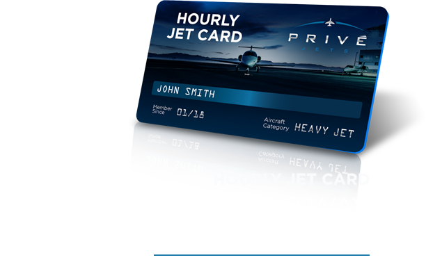 Hourly Jet Card - Discover a Smarter Way to Fly Private
