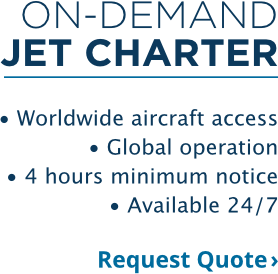 On-Demand Jet Charter