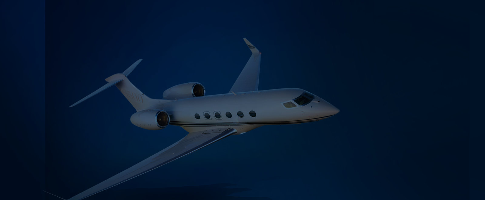 Private jet background
