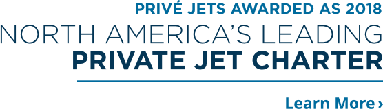 Jet Vip Chartér awarded as 2018 north america's leading private jet charter