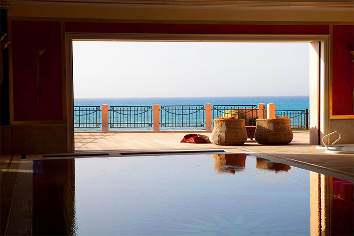 Antara Palace Pool and Balcony View
